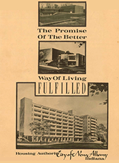 New Albany Housing Authority History Pamplet